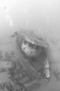 wreck diver Maui