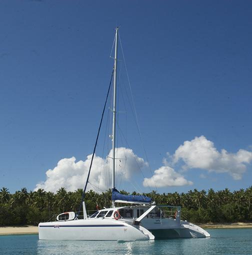 53 foot sailing boat called Wildlife