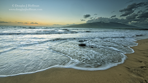 High tide in south maui