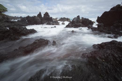 Mauis rocky coastline